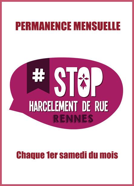 Permanence de l'association Stop Harcèlement de Rue